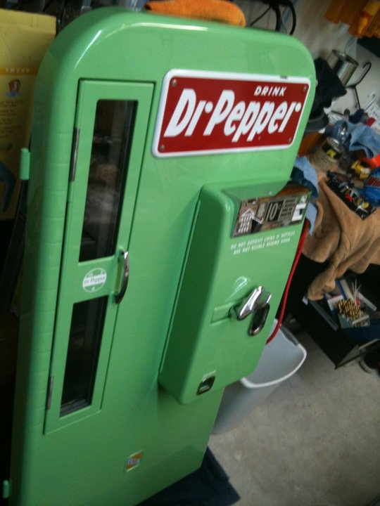 vintage dr pepper vending machine for sale